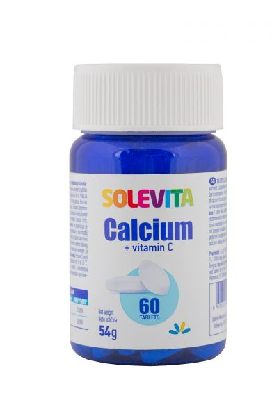 SOLEVITA Калций и витамин с