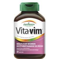 JAMIESON Мултивитамини vita-vim за жени, 60 табл.