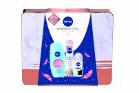 NIVEA XMAS'19 PERSONAL CARE MINIMALIST CHIC  Подаръчен комплект 3 част+ чанта