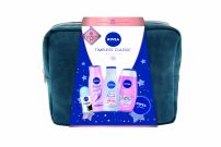 NIVEA XMAS'19 PERSONAL CARE TIMELESS CLASSIC  Подаръчен комплект 5 части+чанта