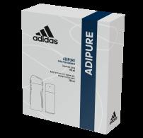 ADIDAS ADIPURE Подаръчен комплект мъжки део спрей антиперспирант 150мл+ душ гел 250мл