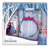 DISNEY FROZEN 2 MAGIC OF WIND Шампоан 250мл + блестящ спрей коса 75мл + диадема, подаръчен комплект