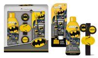 DISNEY BATMAN NEW Подаръчен комплект шампоан 250мл + комплект четка и паста + гривна с изстрелващи дискове,