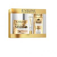 EVELINE ROYAL SNAIL Дневен и нощен крем 40+ 50 мл + крем за очи и клепачи 20мл + бб крем 8в1 50мл, подаръчен комплект