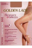 GOLDEN LADY BENESSERE BELLEZZA 70 DEN Чорапогащи за разширени вени размер 5 XL, цвят телесен