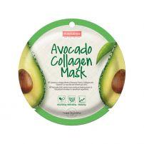 PUREDERM Маска за лице  с колаген и Вит Е с екстракт от авокадо 18 гр.
