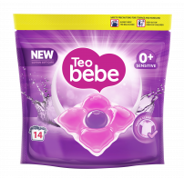 TEO BEBE Перилни капсули Cotton soft purple, 14 бр.