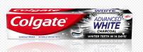 COLGATE ADVANCED WHITE CHARCOAL Избелваща паста за зъби с активен въглен, 75 мл.