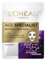 L'OREAL AGE EXPERT Хартиена маска за лице 55+