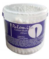 Palomita клечки за уши за възрастни, 200 бр. в цилиндър