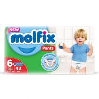 MOLFIX Гащички Extra large размер 6, 15-22 кг., 42 бр.