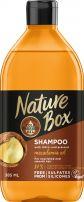 NATURE BOX Шампоан за подхранена и гладка коса с макадамия, 385мл.