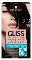 GLISS COLOR Боя за коса 3-0 Тъмно кафяв