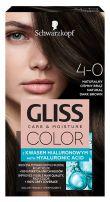 GLISS COLOR Боя за коса 4-0 Естествено тъмно кафяв