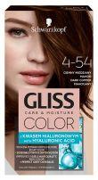 GLISS COLOR Боя за коса 4-54 Тъмно меден махагон