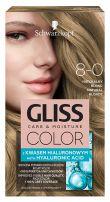 GLISS COLOR Боя за коса 8-0 Естествено рус
