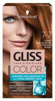 GLISS COLOR Боя за коса 7-7 Медено тъмно рус