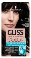 GLISS COLOR Боя за коса 4-13 Тъмно студено кафяв