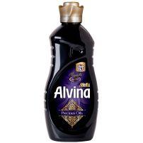 ELEGANCE MEDIX ALVINA DELUXE PERFUME MAGNETIC Омекотител за тъкани (черен) за 74 пранета, 1850 мл.