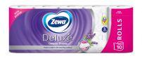 ZEWA DELUXE Тоалетна хартия 3 пласта лавандула, 10 ролки