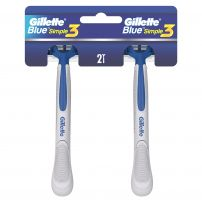 GILLETTE BLUE 3 SIMPLE Мъжка еднократна самобръсначка, 2 бр.