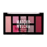 NYX PROFESSIONAL MAKE UP Matchy Matchy Monochromatic Палитра сенки за очи Berry, 1 бр.