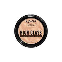 NYX PROFESSIONAL MAKE UP High Glass Компактен хайлайтър Moon glow, 1 бр.