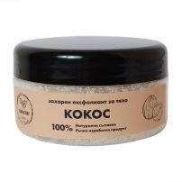 SOAPFACTORY Натурален захарен скраб за тяло кокос 250 гр.