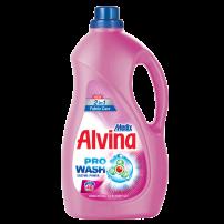 MEDIX ALVINA 2 IN 1 Течен перилен препарат за цветни и бели тъкнаи с омекотител 40 пранета, 2200 мл.