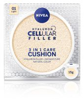 NIVEA CELLULAR HYALURON FILLER 3in1 Cushion light, 15 гр.