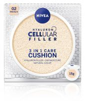 NIVEA CELLULAR HYALURON FILLER 3in1 Cushion medium, 15 гр.