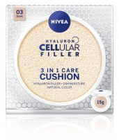 NIVEA CELLULAR HYALURON FILLER 3in1 Cushion dark, 15 гр.