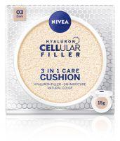 NIVEA CELLULAR HYALURON FILLER 3in1 Cushion dark, 15 гр.