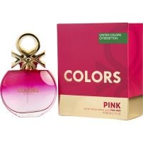 BENETTON COLORS PINK EDT Тоалетна вода за жени, 80 мл.