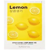 MISSHA AIRY FIT Лист маска за лице с лимон, 19 г.