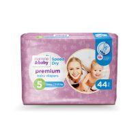 MAMMA&BABY Пелени премиум спийд драй  5,11-20кг, 44бр.