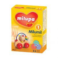 MILUMIL 1 (0-6М)Мляко за кърмачета, 400 гр.