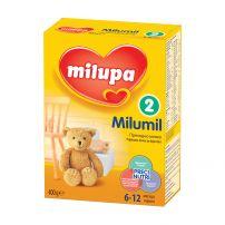 MILUMIL 2 (6-12М) Преходно мляко, 400 гр.