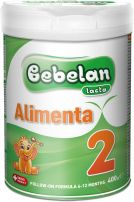 BEBELAN ALIMENTA 2 Преходно мляко 6-12м, 400г