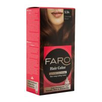 FARO Боя за коса 5.34 Chocolate brown, 75 мл.