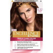 L'OREAL PARIS EXCELLENCE Боя за коса 5.32 Solar brown