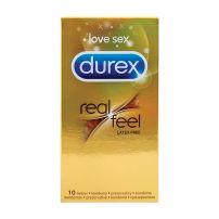 DUREX REAL FEEL Презервативи, 10 бр.