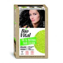 BIO VITAL 100% Натурална боя за коса Black