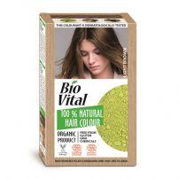 BIO VITAL 100% Натурална боя за коса Dark brown