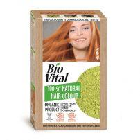 BIO VITAL 100% Натурална боя за коса Henna