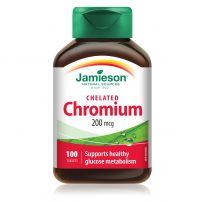 JAMIESON Хром таблетки 200 мкг., 100 бр.
