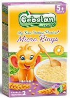 BEBELAN Бебешки кус кус пръстенчета, 5м+ , 350 гр.