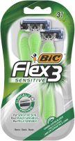 BIC Самобръсначка за мъже flex3 sensitive блистер 3