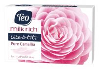 TEO MILK RICH Сапун Pure camellia, 100 мл.