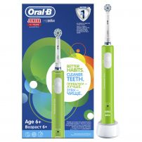 ORAL-B POWER JUNIOR Електрическа четка за зъби зелена 6+